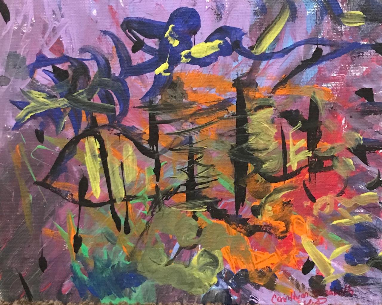 Conqueror 8″x10″ Canvas Panel