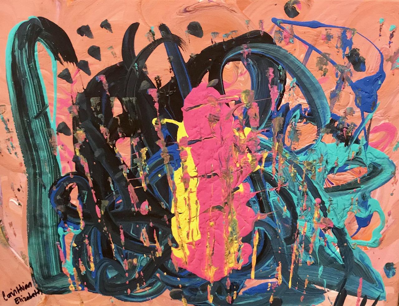 Alchemy 9″x12″ Canvas Panel